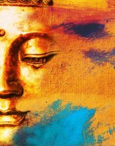 Buddha painting snip